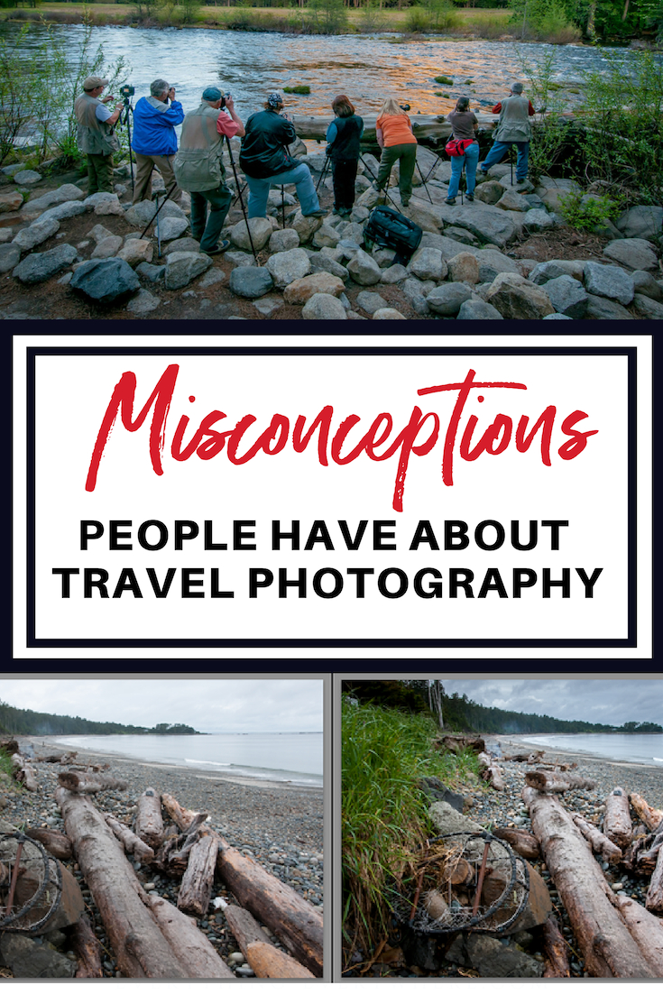 There are 4 Misconceptions of travel photography. Here are some of them that are the most common misconceptions out there!